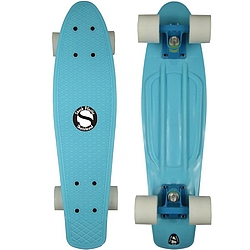Plastový skateboard Shock ice blue/blue/white