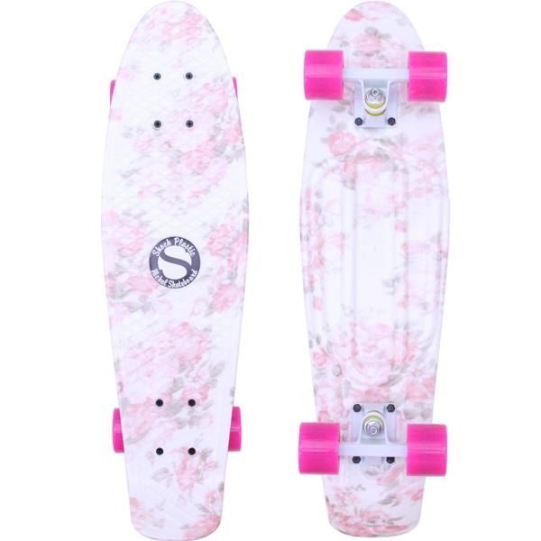 Shock Nickel Flower pink white pink - penny - shockboardshop.cz af9451cda2
