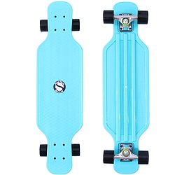 Longboard Shock Longboard light blue/silver/black