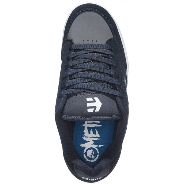 314a989ea48 Boty etnies metal mulisha swivel navy grey - shockboardshop.cz
