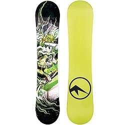 snowboard Trans Pirate Junior Fullrocker green