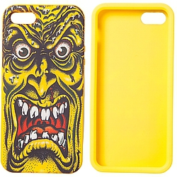 Santa Cruz Rob Face Iphone cover yellow
