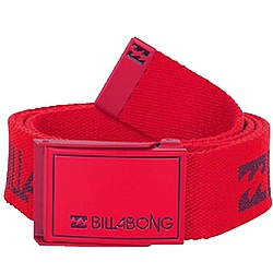 pásek Billabong Corporate Belt red fire