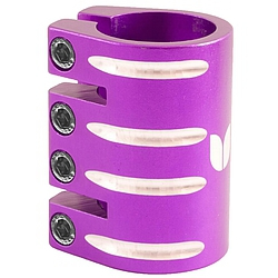 Objímka Blazer Pro Quad Clamp With Shim purple