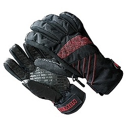 rukavice Demon Mission black/red