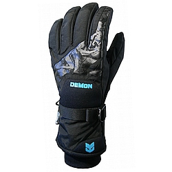 rukavice Demon Raider Glove black/blu