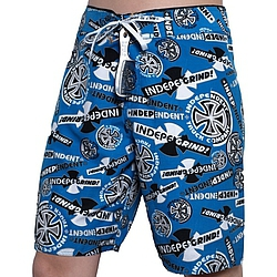 boardshorts - plavky Independent Ripped royal