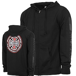 Mikina s kapucí na zip Independent Tc Blaze Zip Hood Black