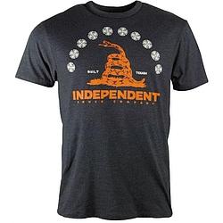 Tričko s krátkým rukávem Independent Republic charcoal heather bb392fefc9
