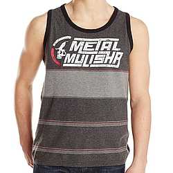 tílko Metal Mulisha Drift heather black