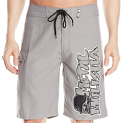 boardshorts - plavky Metal Mulisha The Volt grey