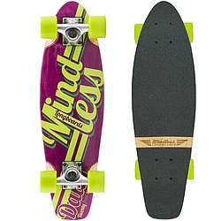 Longboard Mindless Daily Stained purple/green