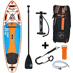 Paddleboard komplet Skiffo Sun Cruise 10 x 32 x 5 orange/blue