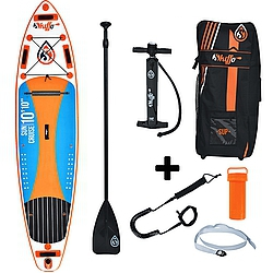 Paddleboard komplet Skiffo Sun Cruise 10,1 x 32 x 6 orange/blue