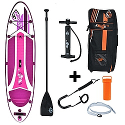 Paddleboard komplet Skiffo Women XX 10 x 30 x 4,8 purple