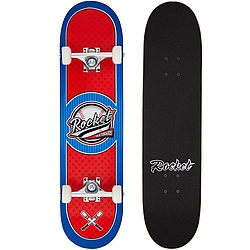 skateboard komplet Rocket Skateboard Logo Series All Star red/blue