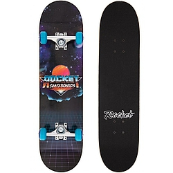 skateboard komplet Rocket Skateboard Logo Series Future black