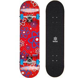 skateboard komplet Rocket Skateboard Atom Series Multiply red