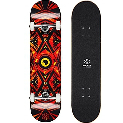 skateboard komplet Rocket Surveillance Series Flames orange