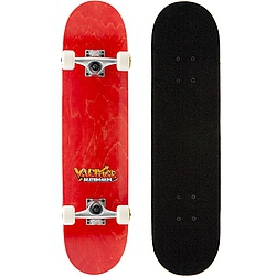 skateboard komplet Voltage Graffiti Logo Complete orage/red