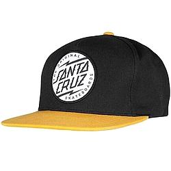d7d37fd4ca8 Akční zboží kšiltovka Santa Cruz Bolt Dot black gold