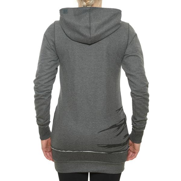 Dámská mikina funstorm craute hood long dark grey - shockboardshop.cz a53a3c4bce