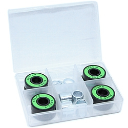 ložiska Shock Bearings ABEC 9 Exlusive green