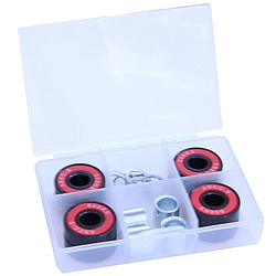ložiska Shock Bearings ABEC 9 Exlusive red