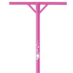 Řidítka Slamm One Piece Back Sweep Y-Bar pink