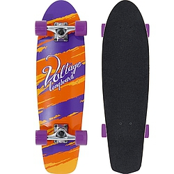 Longboard Voltage Cruiser orange/purple