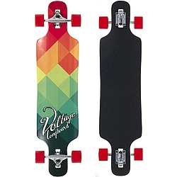 Longboard Voltage DT red/green
