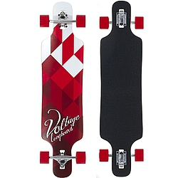 Longboard Voltage DT white/red